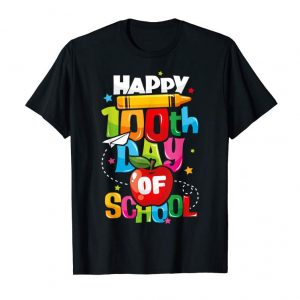Get 100th Day Of School Shirt For Teachers Kids Happy 100 Days