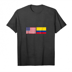Get Now Usa Columbia Flag Columbian American Tee Unisex T-Shirt