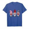 Trends Three Gnomes Holding Hearts Valentines Cute Unisex T-Shirt
