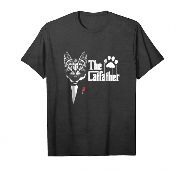 Buy The Catfather, Funny Cat's Dad Lover Unisex T-Shirt