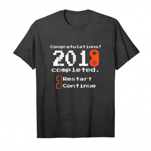Buy New Years For Gamers 2018 2019 Console Pc Game Fun Unisex T-Shirt