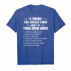Trends Mens 5 Things You Should Know About My Freaking Awesome Daughter Unisex T-Shirt