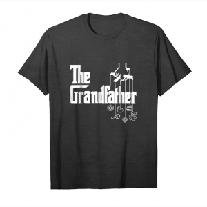 Get Now Mens The Grandfather Funny Mafia Style Fathers Day Gift Tshirt Unisex T-Shirt