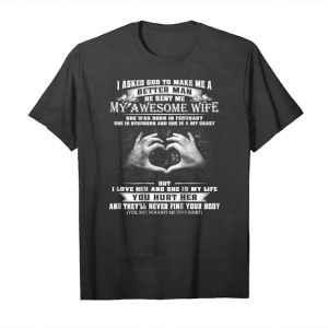 Buy Mens My Awesome February Wife Unisex T-Shirt