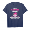 Trending I'm An Auntie Shark Who Happens To Cuss A Lot Doo Doo Unisex T-Shirt