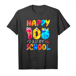 Trends Happy 100th Day Of School For Teacher Or Child Unisex T-Shirt