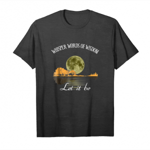 Get Now Guitar Whisper Words Of Wisdom Let It Be Unisex T-Shirt