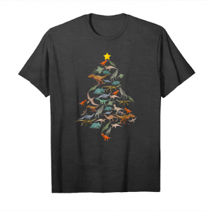 Buy Now Funny Kids Tree Rex   Dinosaur Christmas Tree Unisex T-Shirt
