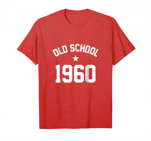 Trends Funny Hipster Old School 1960 Birthday Unisex T-Shirt