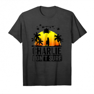 Buy Charlie Don't Surf Military Vietnam War Apocalypse Unisex T-Shirt