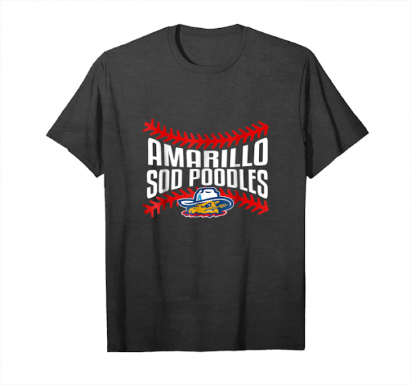 Buy Amarillo Sod Poodles Admiral Blue Laced Up Tee Unisex T-Shirt