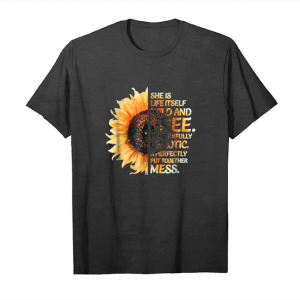Buy She Is Life Itself Wild And Free Sunflower T Shirt Unisex T-Shirt