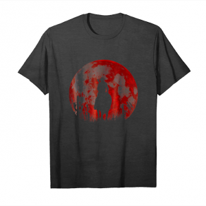 Cool Red Moon Cowboy Red Dead Redemption 2 Christmas Gift Tees Unisex T-Shirt