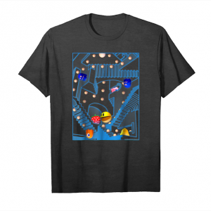 Order Pac Man Stairs Relativity Art Graphic T Shirt Unisex T-Shirt