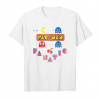 Trending Pac Man Fanatic Ghost Cherry Graphic T Shirt Unisex T-Shirt