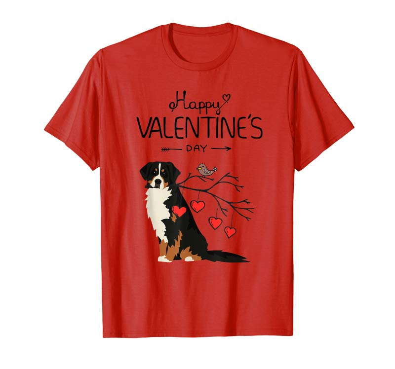 0218ea4f5b27 Order Dog Is My Valentines Day Bernese Mountain Dog T-Shirt - Tees ...