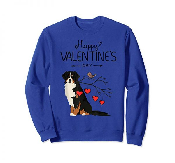 Order Dog Is My Valentines Day Bernese Mountain Dog T-Shirt