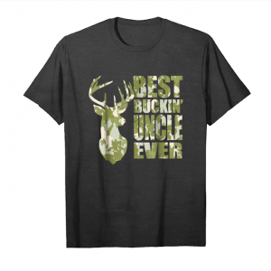 Buy Mens Best Buckin' Uncle Ever T Shirt   Hunting Lover Gifts Unisex T-Shirt
