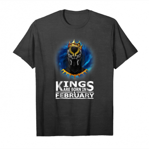 Trending Kings Are Born In February Panther Legends Tshirt Unisex T-Shirt