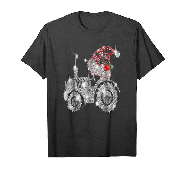 Get Now I Love This Tractor Farm Merry Christmas T Shirt Unisex T-Shirt