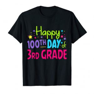 Trends Happy 100Th Day Of 3Rd Grade Shirt Gift Student Teacher