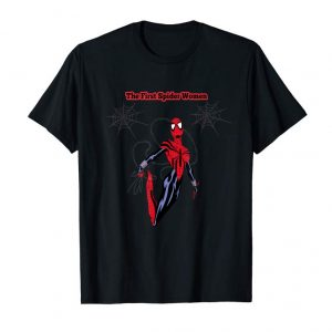 Trending Men's Gift The First Spider Girl With Web