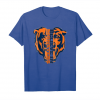 Cool Funny Gift Believe In Monsters Chicago Bears Tshirt Unisex T-Shirt