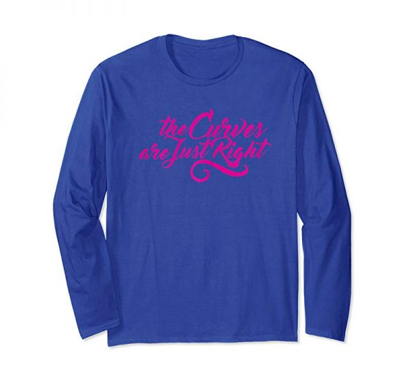 Trending Womens TQT The Curves Are Just Right T Shirt