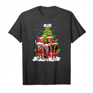 Buy Christmas Acdc Band Shirt Unisex T-Shirt