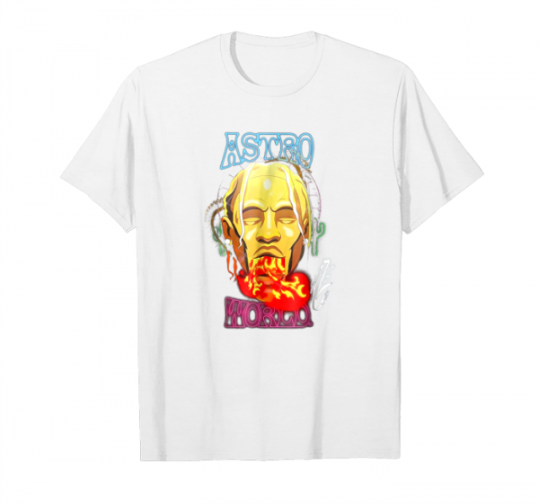 Buy Astroworld Travis Scott Shirt Fan Wear Rap Music Xmas Tshirt Unisex T-Shirt