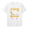 Buy A Queen Was Born In December   Happy Birthday To Me Shirt Unisex T-Shirt