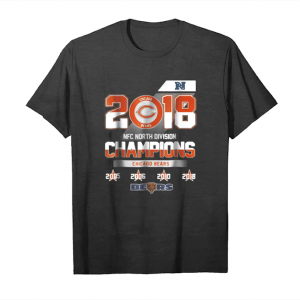 Buy Now 2018 Nfc North Division Champions Chicago Bears Unisex T-Shirt