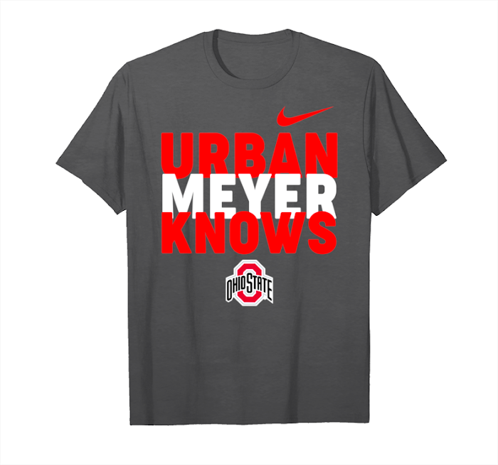 shoes for cheap amazon 2018 sneakers Trending Nike Ohio State Buckeyes Urban Meyer Knows Tee ...