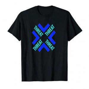 Cool Threat Clan Fort Gamers T-Shirt To Gift With Game Headset Pc