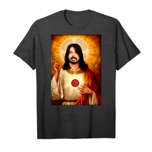 Get Dave Grohl Foo Fighter Jesus Shirts Unisex T-Shirt