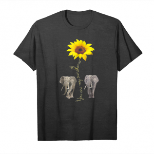 Buy You Are My Sunshine   Elephant Sunflower Tshirt Unisex T-Shirt