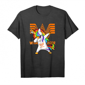 Order Whataburger Unicorn Dabbing T Shirt Funny Unisex T-Shirt