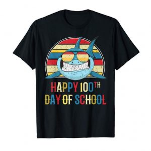 Cool HAPPY 100TH DAY OF SCHOOL SHIRT FOR LOVER GIFT RETRO VINTAGE