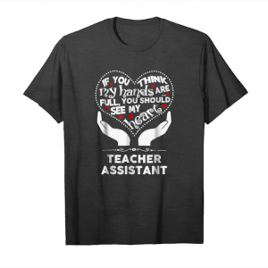 Order Teacher Assistant Heart T Shirt Back To School Unisex T-Shirt
