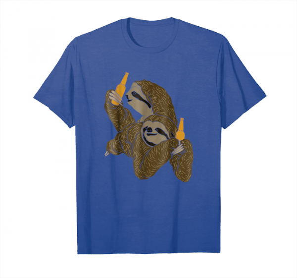 Trends Sloth Lover Just Chillin Funny Lazy T Shirt Gift Unisex T-Shirt