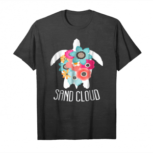 Get Now Sand Cloud Turtle Floral Tshirt Unisex T-Shirt
