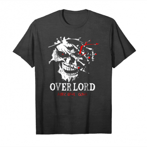 Order Novels   Overlords Graphic Skul Ainz Ooal Gown Unisex T-Shirt