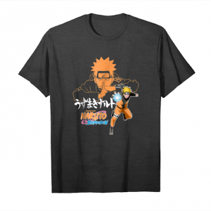 Buy Now Naruto Shippuden Naruto Jutsu Closeup With Kanji And Acti Unisex T-Shirt