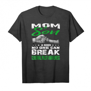 Cool Mom & Son, Cerebral Palsy Awareness T Shirt Unisex T-Shirt