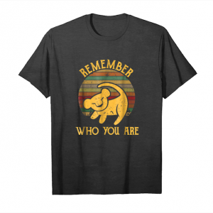 Get Now Lion Lovers Remember Who You Are Jungle Vintage T Shirt Unisex T-Shirt