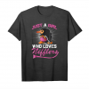 Trending Just A Girl Who Loves Niffler T Shirt Funny Nifflers Lover G Unisex T-Shirt