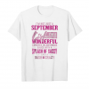 Get Now I'm Not Just A September Girl T Shirt Unisex T-Shirt