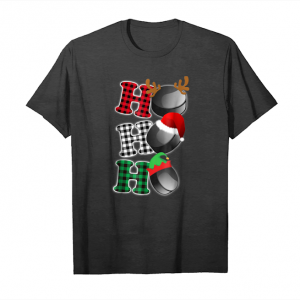 Buy Ho Ho Ho Hockey Puck Santa T Shirt Christmas Costume Unisex T-Shirt