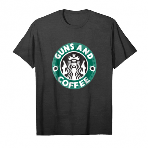 Trends Guns And Coffee T Shirt Unisex T-Shirt