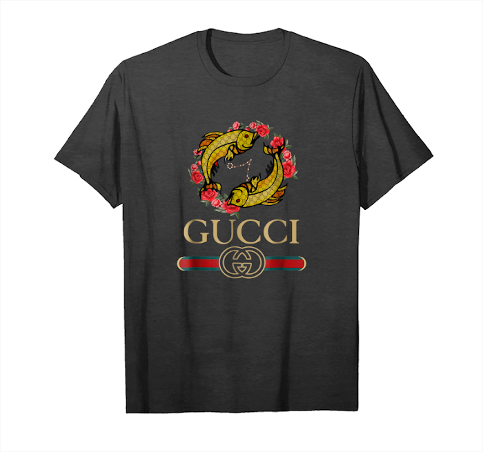 c25ab524 Trends Gucci Logo Fish Shirt For Men Women Youth Unisex T-Shirt